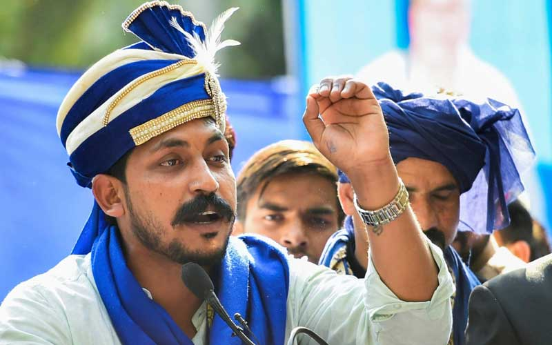 Bhim Army Chief threatens with 'Maharashtra Bandh' if promotion quota for minorities not accepted