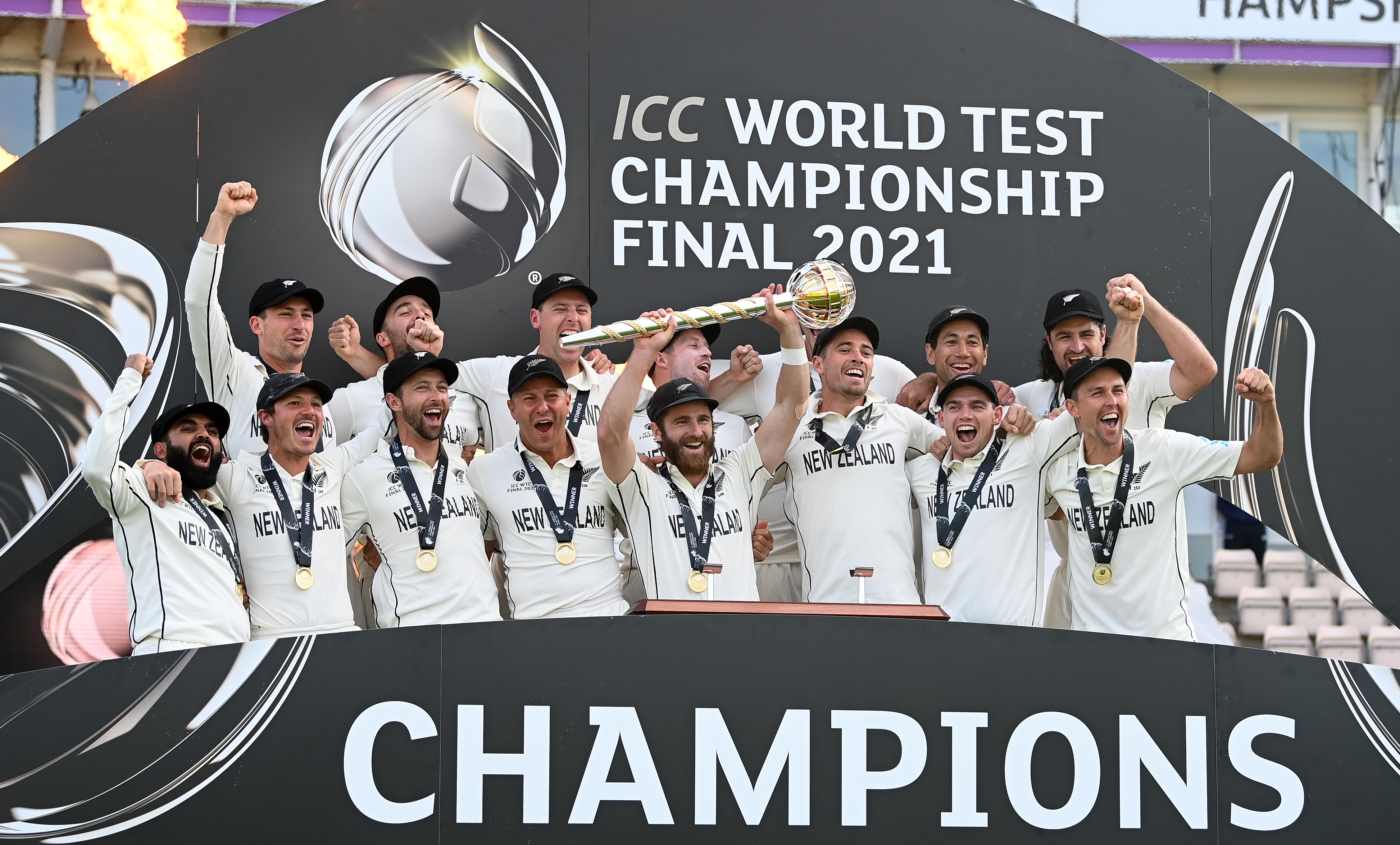 New Zealand triumphs over India to clinch the first World Test Championship