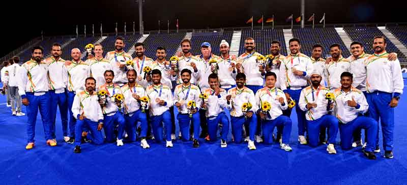Indian Hockey Teams Achieve Best Ever FIH World Rankings,  Men's Team Rise To 3rd And Women's Team To 8th