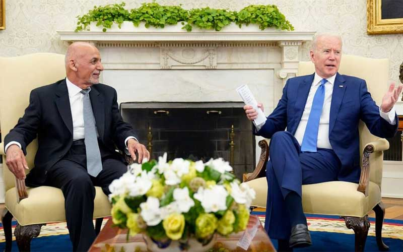 Biden assures Afghan leadership of US support even after troop pullout