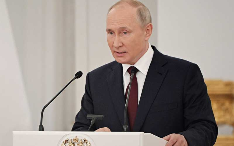 Putin claims that US aircraft involved in Black Sea Incident