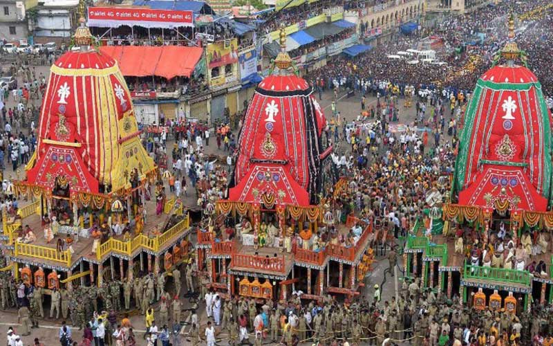 The Supreme Court refused to allow rath yatras in places other than Puri Jagannath Temple.