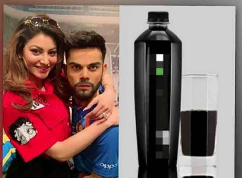 Super Expensive 'Black Water' Is The Secret Of Virat Kohli's Fitness, Celebrities Shruti Haasan, Malaika Arora And Urvashi Rautela also prefers It