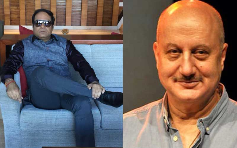 Veteran actor Anupam Kher agreed to work after listening to the story of the film 'Saanncha', says Producer Vivek Dixit