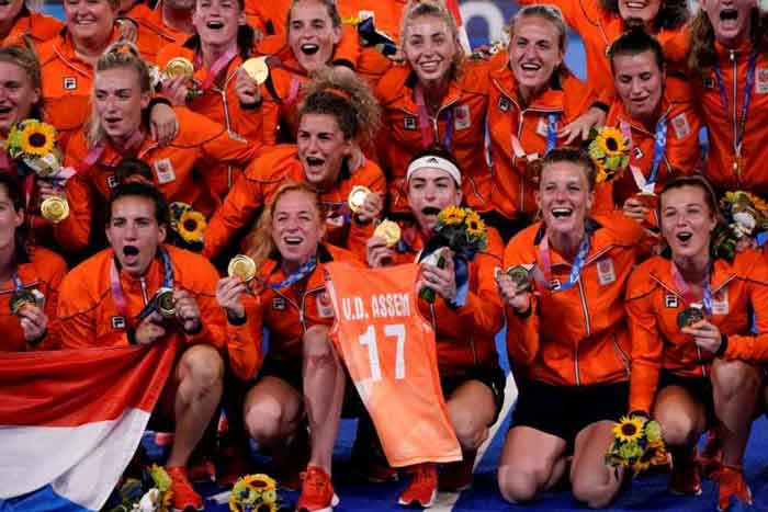 Netherlands Defeat Argentina 3-1 To Take Women's Olympic Hockey Gold Medal