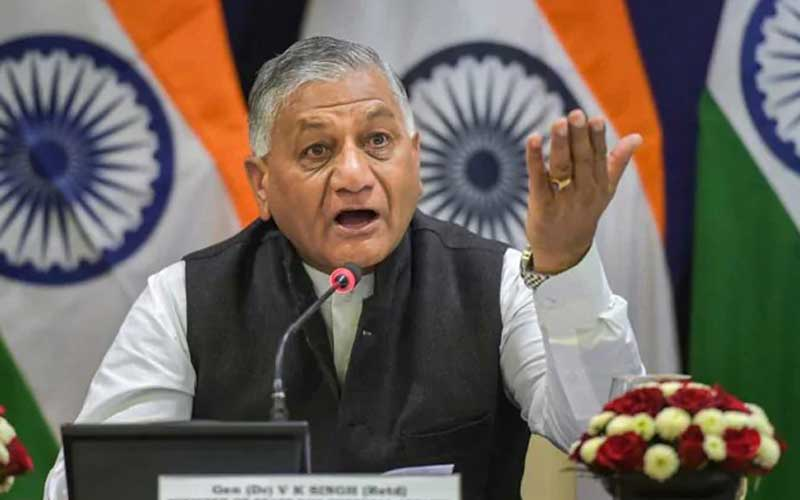 Supreme Court rejects petition seeking VK Singh's removal over remarks on China border dispute