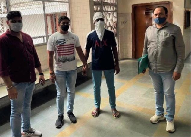 A wanted criminal involved in multiple cases including murder, nabbed at north east Delhi