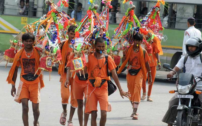 Uttar Pradesh cancels Kanwar Yatra 2021 - Yatra in UP called off