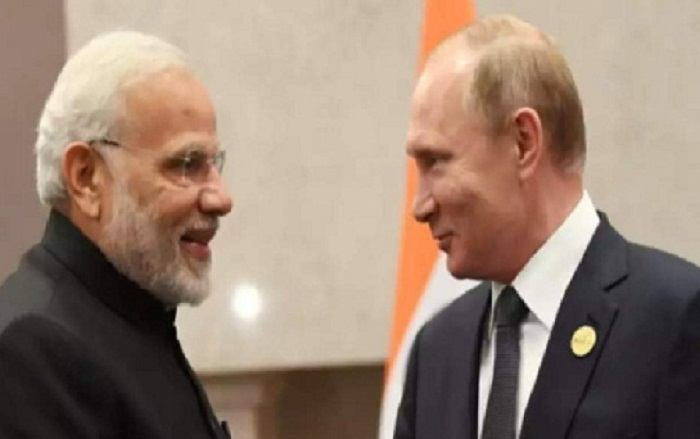 PM Modi And Putin Discusses Situation In Afghanistan