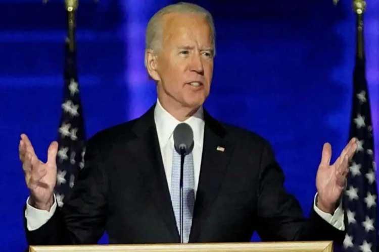According to US President Joe Biden, Covid has not yet been