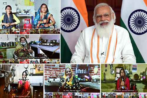 Prime Minister launches Ujjwala 2.0 From Mahoba In Uttar Pradesh,  Remembers Another son of the soil of Bundelkhand Major Dhyan Chand