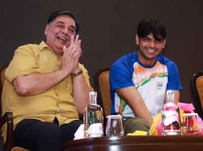 In honour Of Tokyo Olympic Gold Medalist Neeraj Chopra, AFI Will Organize A Javelin Throw Competition Every Year On August 7