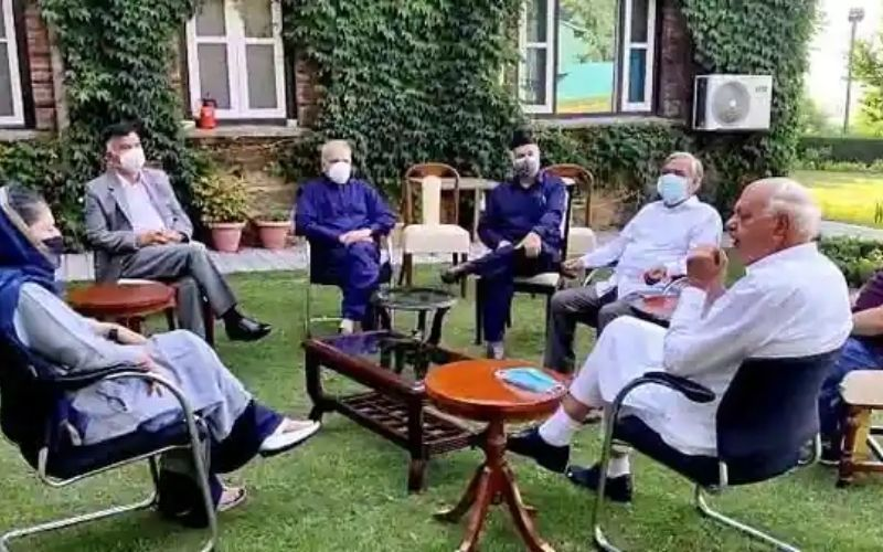 All-party meeting with J&K leaders on 24th June