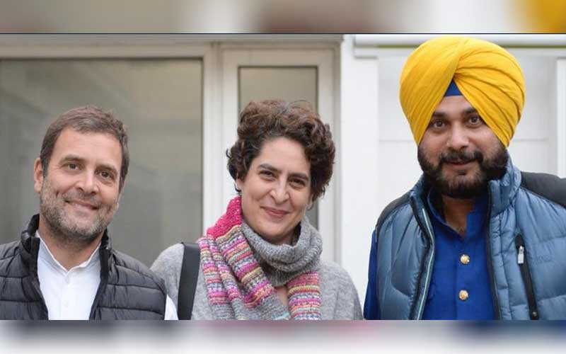 To halt clashes, Navjot Singh Sidhu is expected to become Punjab Congress chief