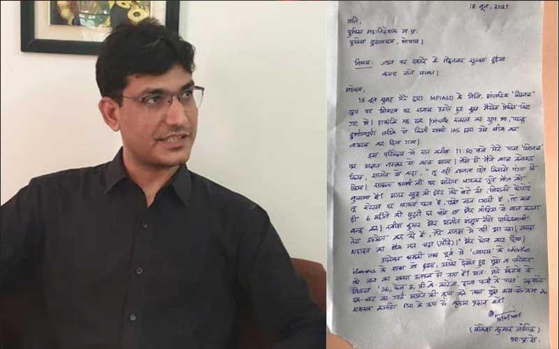'Mala fide' MP IAS officer Jangid responds to show cause notice