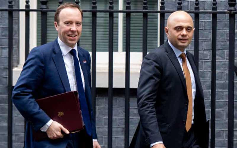 Former UK Finance Minister Sajid Javid named as new health minister