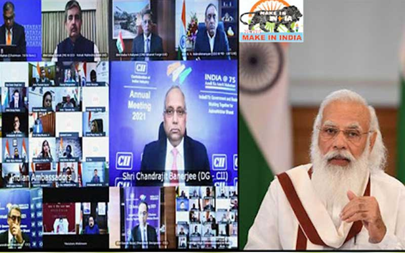Today the trust of the countrymen is with the products made in India: PM