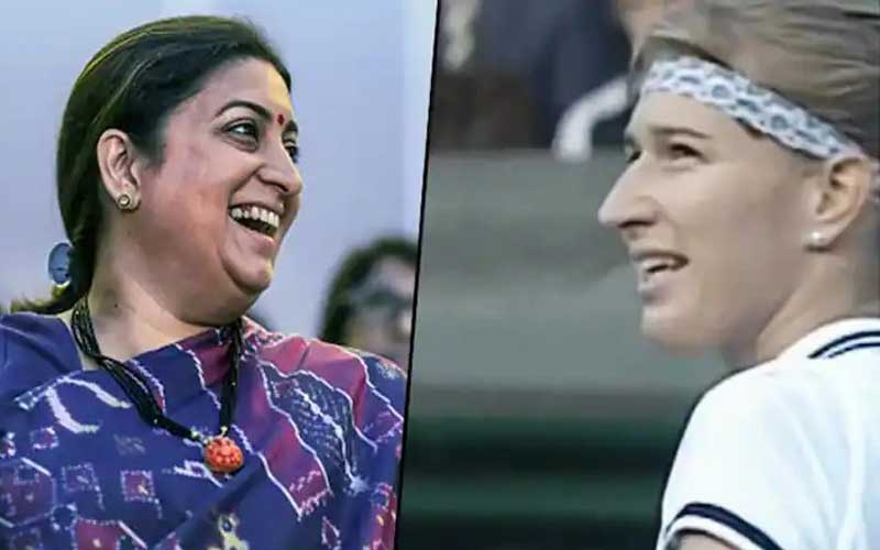 Smriti Irani gives Steffi Graff's Wimbledon marriage proposal 'Kyunki Saas Bhi Kabhi Bahu Thi' twist