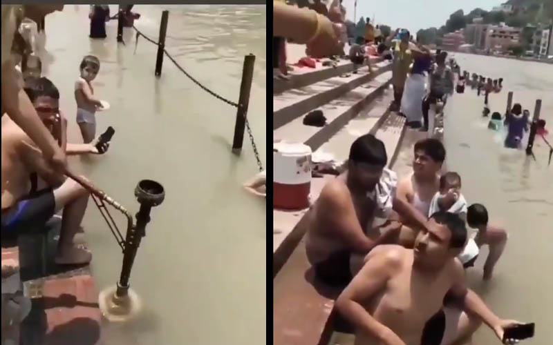 Hookah gurgled on Harki Paudi landed tourists in jail, angry local people beat them up