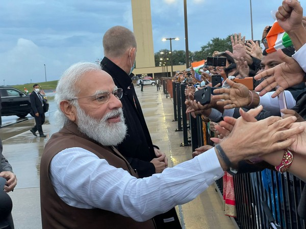 Indian-Americans greet PM Modi on arrival in the US, the Indian diaspora is our power