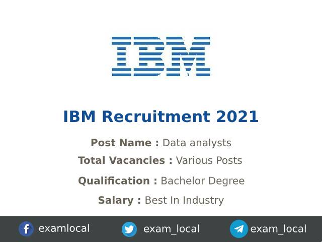 IBM notifies Jobs, Check position, Salary, Eligibility, know how to apply
