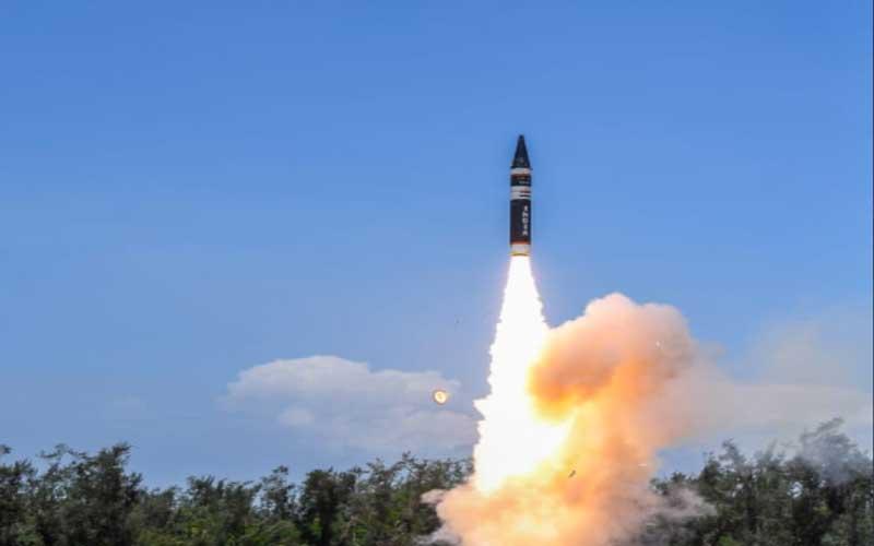 India test-fired Agni Prime, a new missile in Agni series