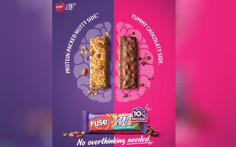 Mondelez India Marks Its Foray into The Snack Bar Category, with Cadbury Fuse Fit