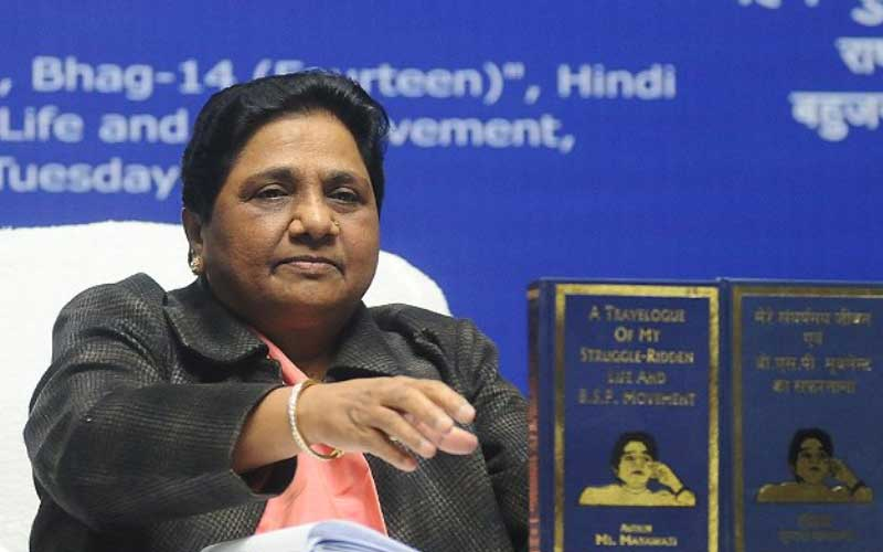 Mayawati furious over the news of Owaisi's tie-up with BSP