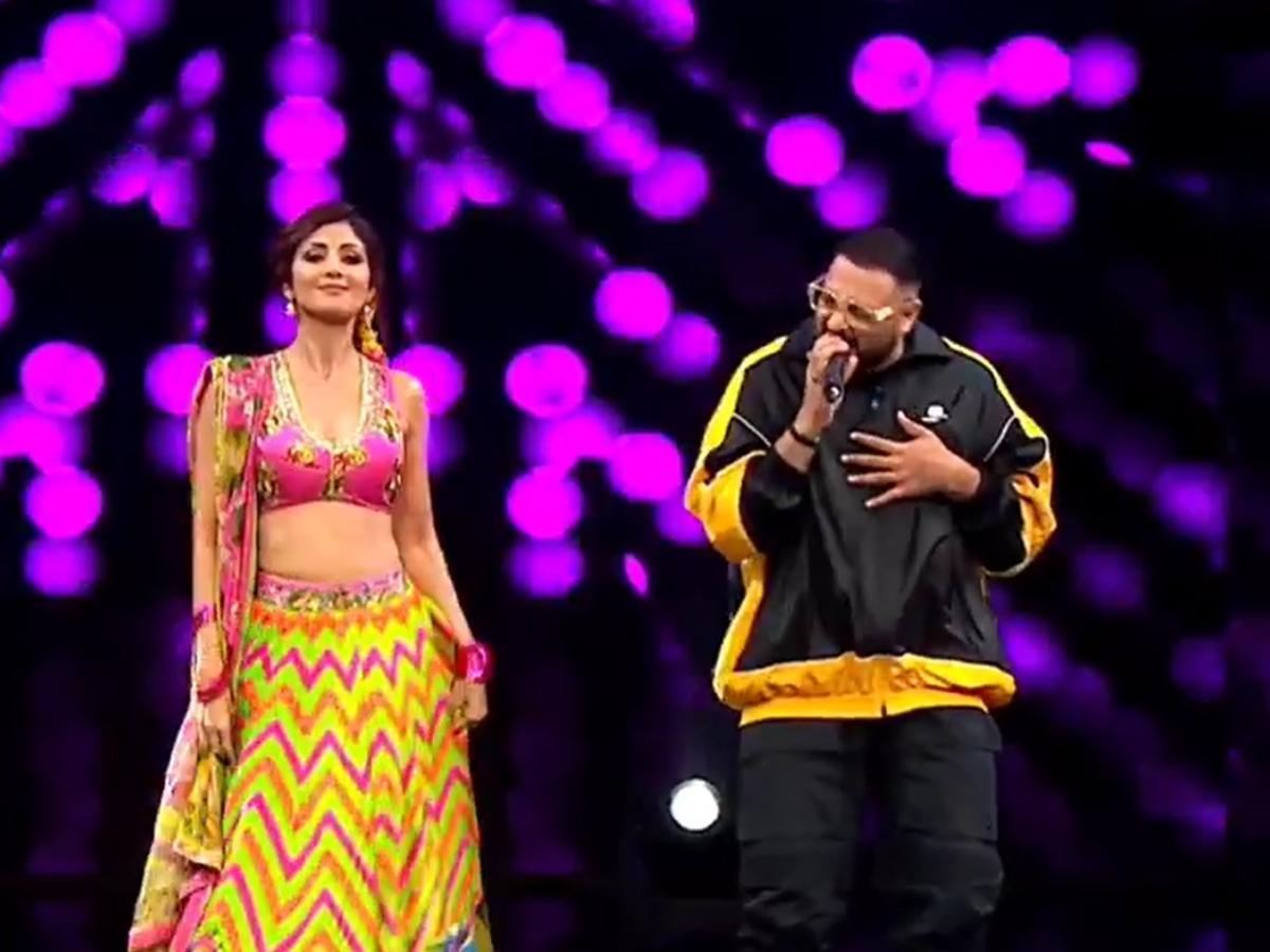 Badshah accompanies Shilpa Shetty on India's Got Talent