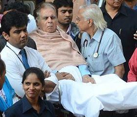 Dilip Kumar hospitalised for breathlessness again, medics say he is doing fine