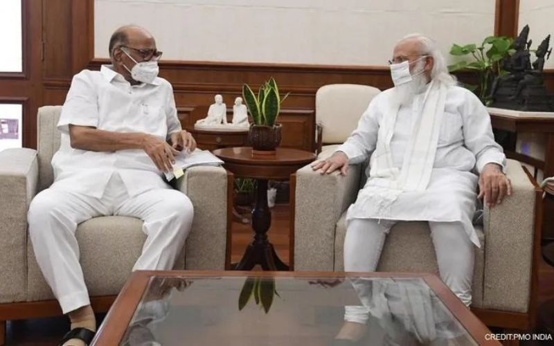 Farmers, New Ministry discussed during PM-Sharad Pawar's 50-minute meeting
