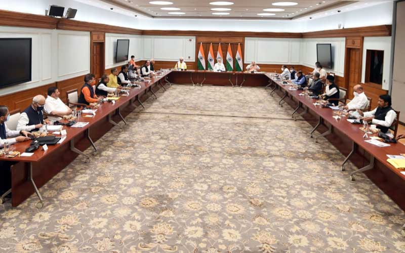 'Our priority is to strengthen grassroots democracy in J&K': PM Modi's Remarks at the All-Party Meeting with J-K Leaders