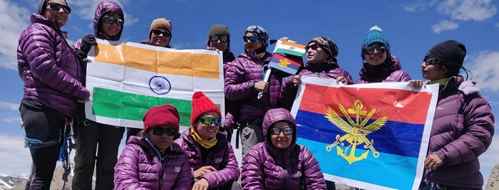 Summit Of MT Manirang By All Women Mountaineering Team