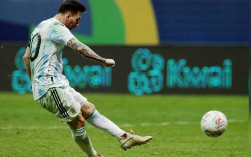 Argentina will face Brazil in the Copa America final after winning on penalties.