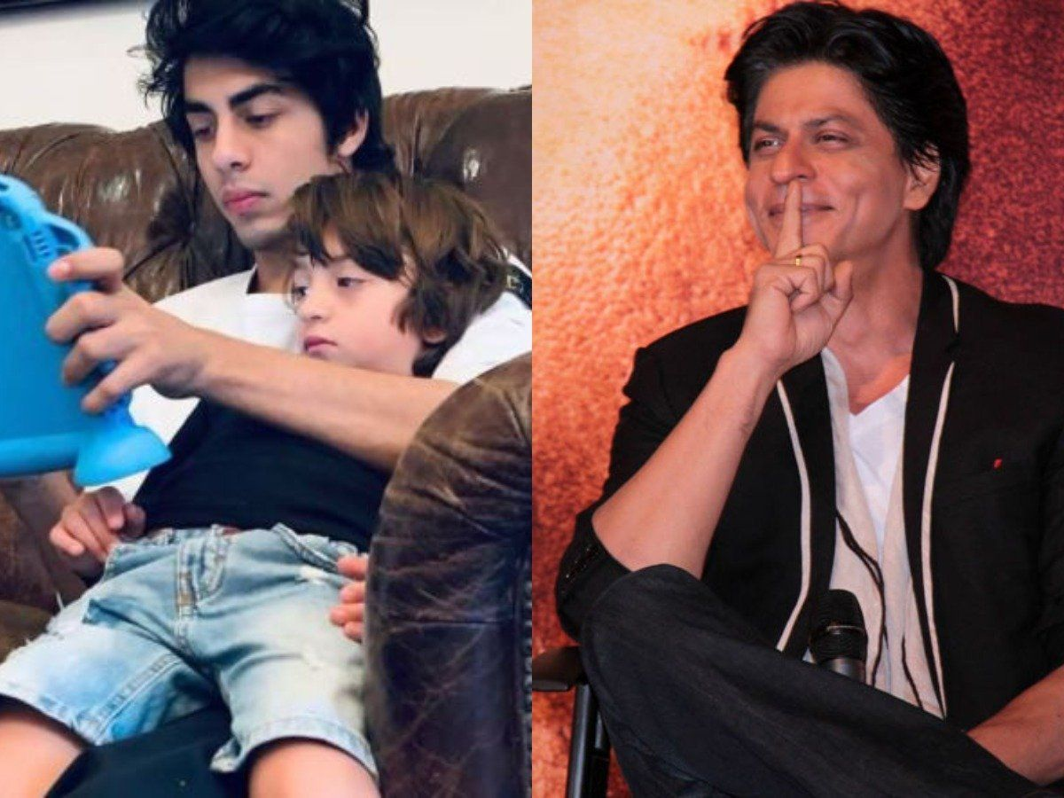 Shah Rukh Khan says after seeing the bond of AbRam and Aryan, brothers who play together, stay together
