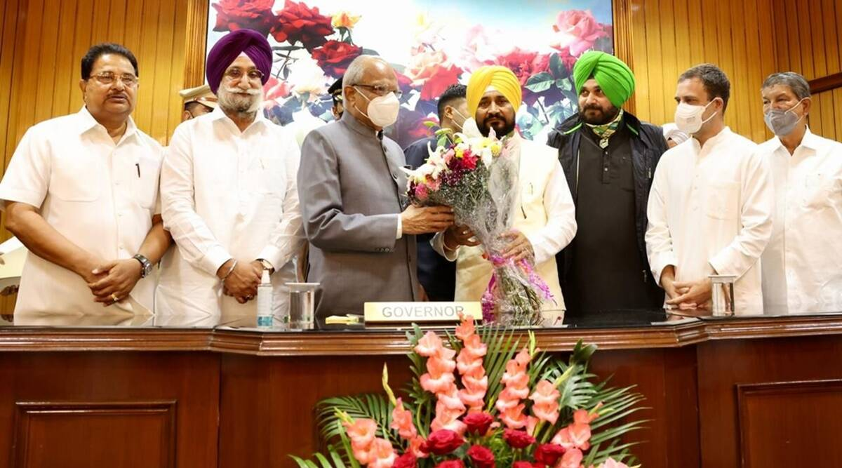 """Charanjit Singh Channi tells Centre """"Withdraw farm laws"""" after taking oath as Punjab CM"""