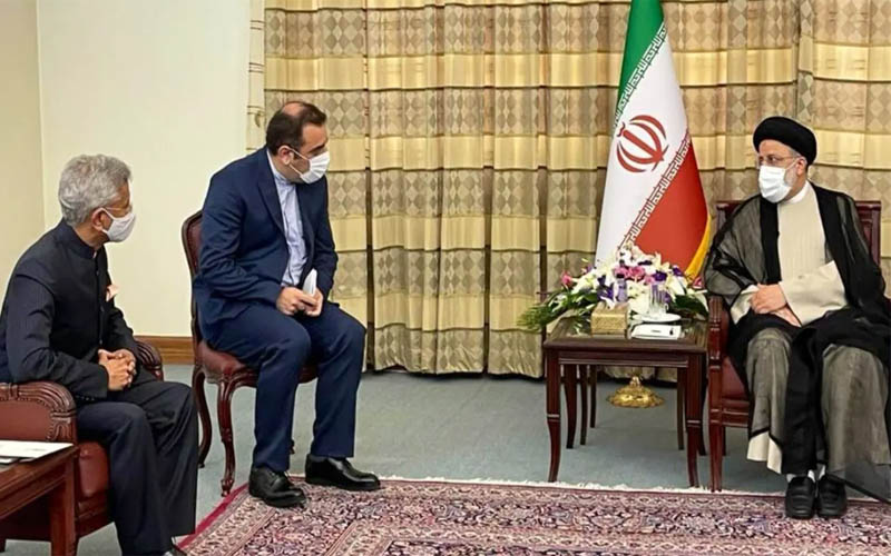 India welcomes President-elect Ebrahim Raisi's offer to attend the swearing-in ceremony in Iran.