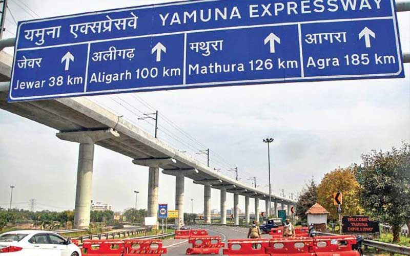 Time booths, crash barriers to be installed on Yamuna Expressway to preventing speeding and accidents