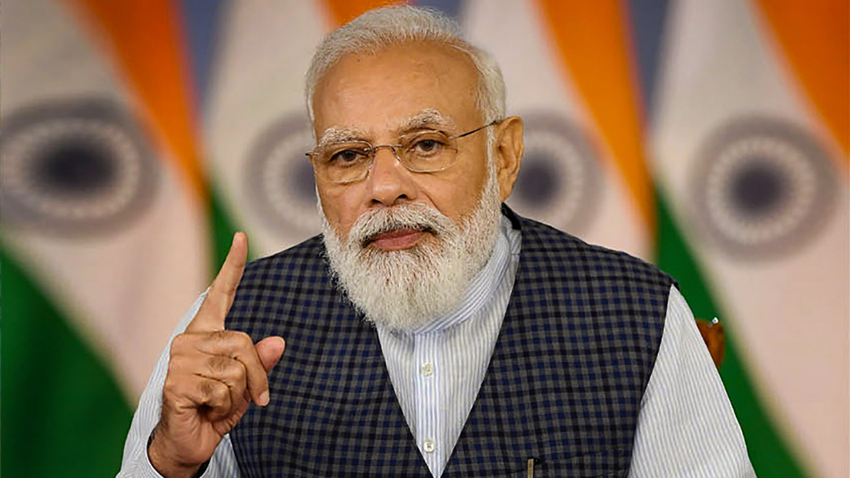PM Modi says some see human rights violations in some incidents, not in others