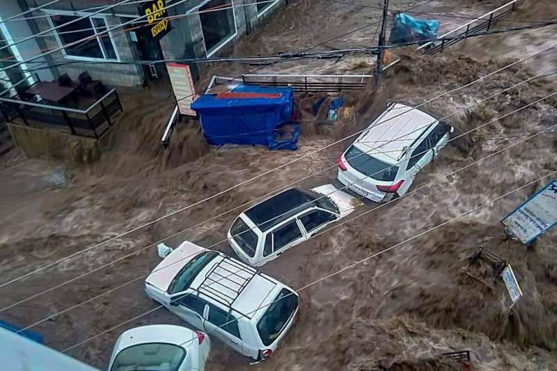 Himachal Pradesh Cloudburst Latest News - Flash Floods in Himachal Pradesh