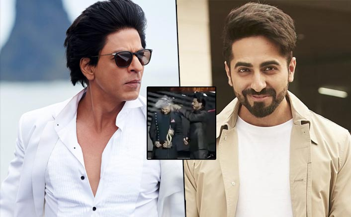 Do we know Ayushmann Khurrana mimics Shah Rukh Khan and Hrithik Roshan in films? Read below to know more