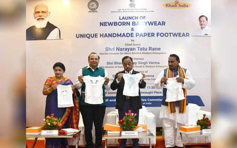 MSME Minister Narayan Rane launches Khadi Products