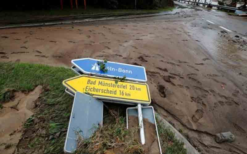 Floods across Europe have killed over 60 people and left hundreds more missing.