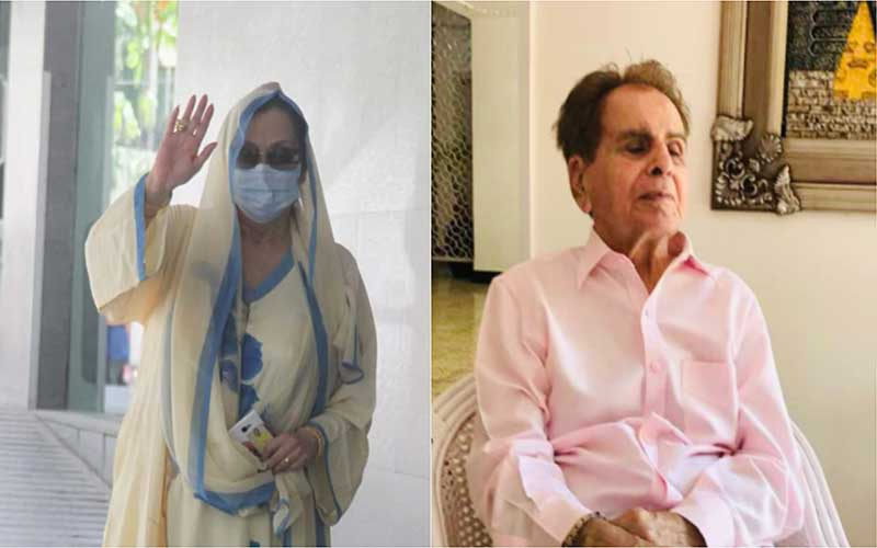 Saira Banu visits Dilip Kumar, Urges Fans to Pray for Him.