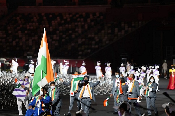PM Modi Extends Best Wishes To Indian Contingent On Beginning Of Tokyo Paralympic Games