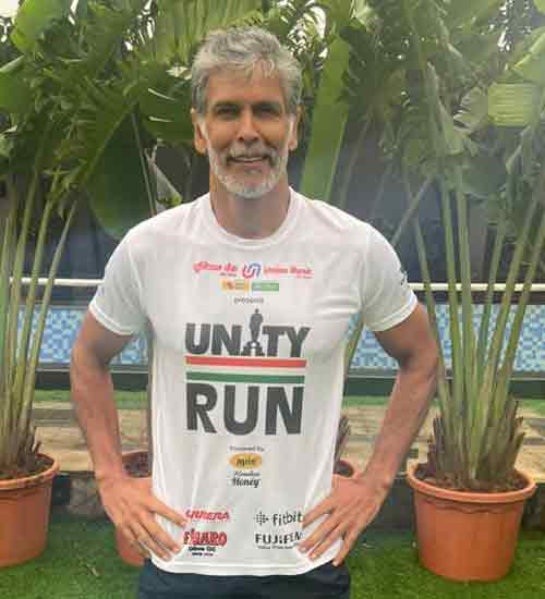 Fitness Guru Milind Soman Will Run Solo In '420 Km Unity Run' From Mumbai To The Statue Of Unity in 8 Days