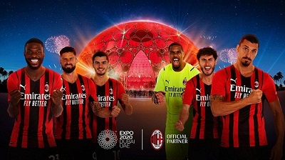 AC Milan Club Announce New Partnership With Expo 2020 Dubai