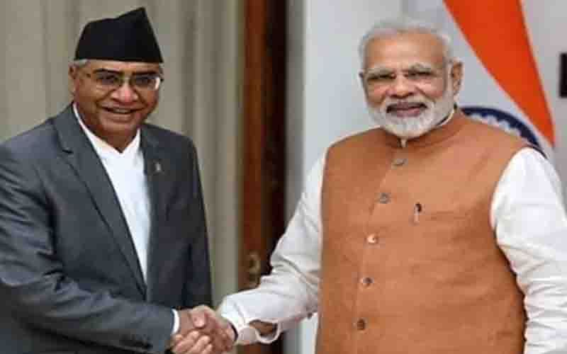 Sher Bahadur Deuba, Nepal's newly appointed Prime Minister, will take the oath of office today.