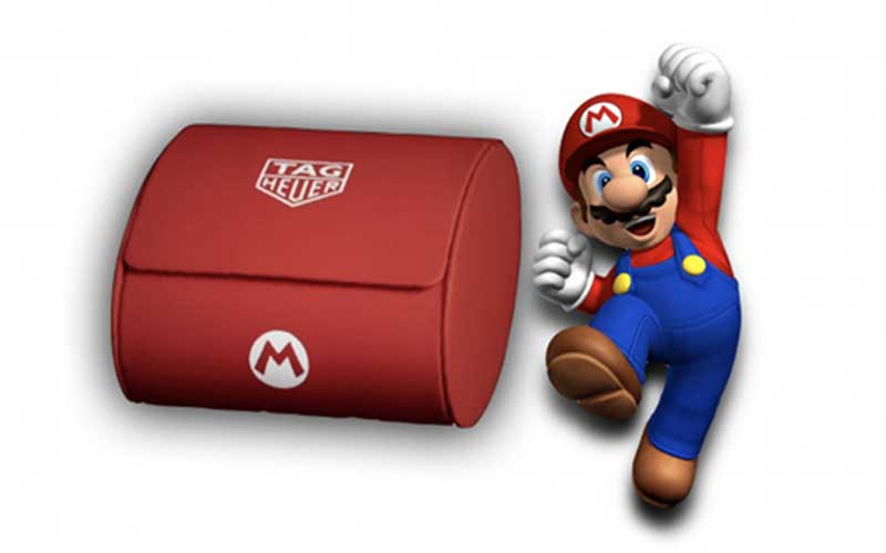 Nintendo and Tag Heuer are teaming up for making a Super Mario watch