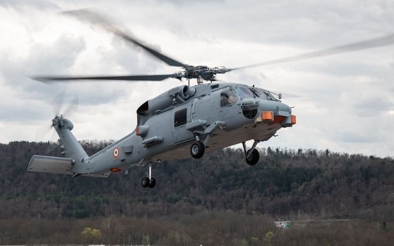 US Navy handed MH-60R helicopters to India